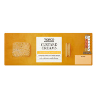 Tesco Biscuits - Custard Cream