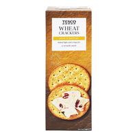 Tesco Crackers - Wheat
