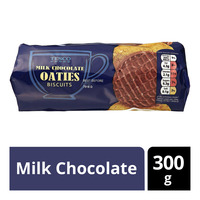Tesco Oaties Biscuits - Milk Chocolate