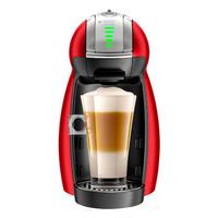 Nescafe Dolce Gusto Genio 2 Coffee Machine - Red Metal