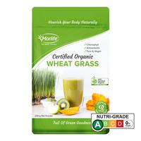 Morlife Phytofood Organic Powders - Wheat Grass