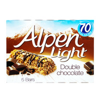 Alpen Light Cereal Bars - Double Chocolate