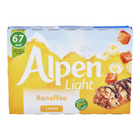 Alpen Light Cereal Bars - Banoffee