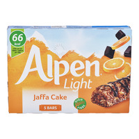 Alpen Light Cereal Bars - Jaffa Cake
