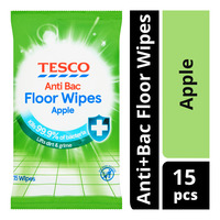 Tesco Anti+Bac Floor Wipes - Apple