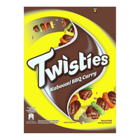 Twisties Corn Snack - BBQ Curry