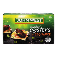 John West Smoked Oysters in BBQ Sauce