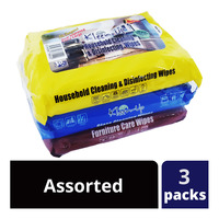 Kleen-Up Wipes - Assorted