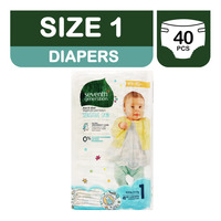 Seventh Generation Diapers - Size 1 (4 - 6kg)