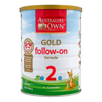 Australia's Own Gold Follow On Milk Formula - Step 2 900G