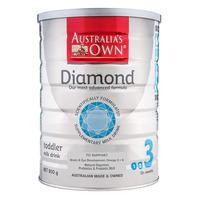 Australia's Own Diamond Toddler Milk Formula - Step 3 900G