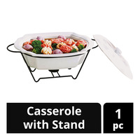 Imported Casserole with Stand