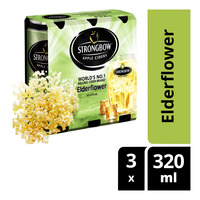 Strongbow Apple Can Cider - Elderflower