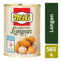 Mili Fruits in Light Syrup - Longan