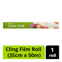 Tesco Cling Film Roll (35cm x 50m)