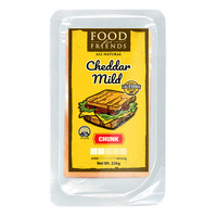 Food For Friends All Natural Cheese - Cheddar Mild (Chunk)