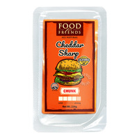 Food For Friends All Natural Cheese - Cheddar Sharp (Chunk)