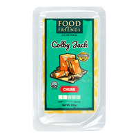 Food For Friends All Natural Cheese - Colby Jack (Chunk)
