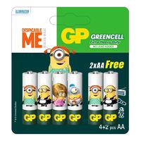 GP Greencell Battery - Minions (AA)