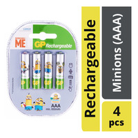 GP Rechargeable Battery - Minions (AAA)