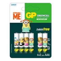 GP Greencell Battery - Minions (AAA)