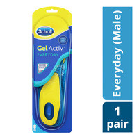 Scholl Gel Activ Insoles - Everyday (Male)