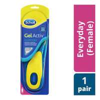 Scholl Gel Activ Insoles - Everyday (Female)
