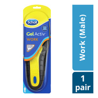 Scholl Gel Activ Insoles - Work (Male)