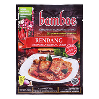 Bamboe Instant Spices - Rendang (Indonesian Rendang Curry)