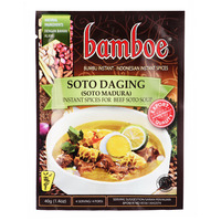 Bamboe Instant Spices - Soto Daging (Beef Soto Soup)