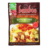 Bamboe Instant Soup Spices - Betawi Soto