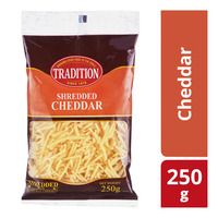 Tradition Shredded Cheese - Cheddar