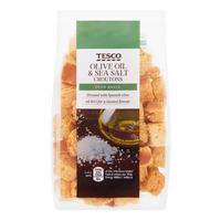 Tesco Croutons - Olive Oil & Sea Salt
