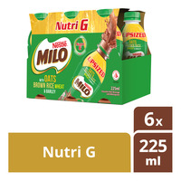 Milo Chocolate Malt Bottle Drink - Nutri G
