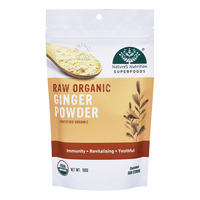 Nature's Nutrition Superfoods - Raw Organic Ginger Powder