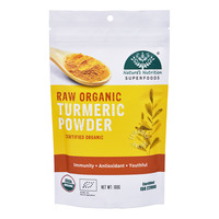 Nature's Nutrition Superfoods - Raw Organic Turmeric Powder