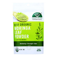 Nature's Nutrition Superfoods - Raw Organic Moringa Leaf Powder