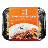 Chef-in-Box Ready Meal - Japanese Chicken Curry with Rice