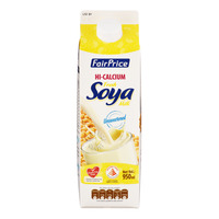 FairPrice Hi Calcium Fresh Soya Milk - Unsweetened