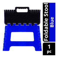 Imported Foldable Stool - Blue