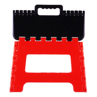 Imported Foldable Stool - Red
