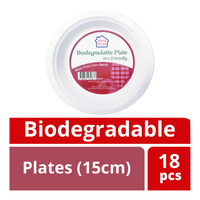 HomeProud Biodegradable Plates (15cm)