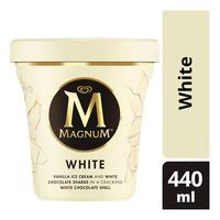 Magnum Ice Cream - White (Pint)