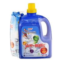 Yuri-Matic Laundry Liquid Detergent with Refill - Romantic Blue