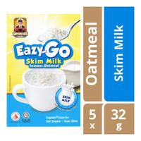 Captain Oats Eazy-Go Instant Oatmeal - Skim Milk