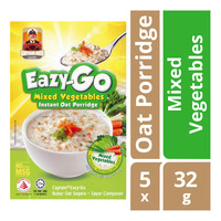Captain Oats Eazy-Go Instant Oat Porridge - Mixed Vegetables