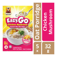 Captain Oats Eazy-Go Instant Oat Porridge - Chicken Mushroom