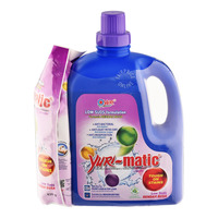 Yuri Matic Laundry Liquid Low Suds - Lavender + Refill