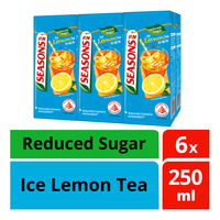 F&N Seasons Packet Drink - Ice Lemon Tea (Reduced Sugar)