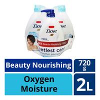 Dove Body Wash - Oxygen Moisture + Beauty Nourishing